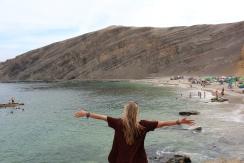 Paracas beach, Peru