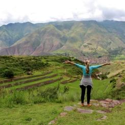 Tipon Ruins. Peru