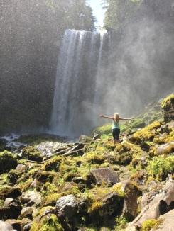 Tamanawa falls, Oregon