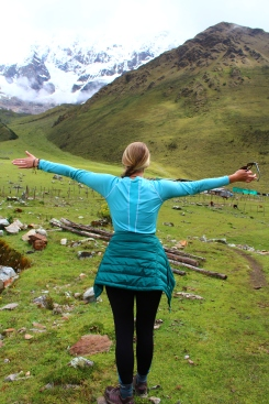 Salkantay Trek ( Day 1 base camp), Peru